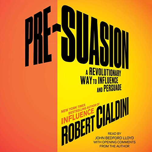 Pre-Suasion Audiobook By Robert B. Cialdini cover art
