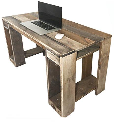 Palettenmöbel Tisch KALAWAO, Neuholz gebeizt in klassischer Paletten Optik, jedes Teil ist einzigartig und Wird in Deutschland in Handarbeit gefertigt