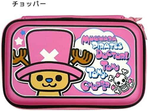 One piece x PansonWorks mobile game pouch M (hard type)   DS case perfect for [chopper] animated cartoon character goods mail order (japan import)