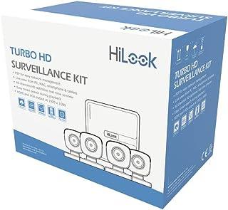 Hikvision Kit Circuito Cerrado 4 Camaras Metal Hd720p Hilook