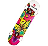 Punisher Skateboards Butterfly Jive Complete 31-Inch Skateboard with...