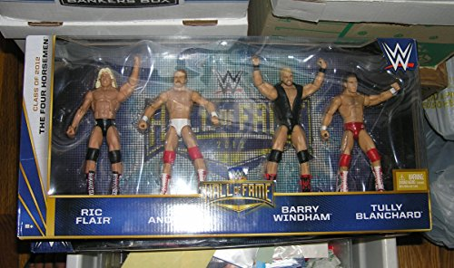 Mattel The Four Horsemen Hall of Fame WWE Elite 4 Pack Figures RIC Flair Arn Anderson Barry Windham Tully Blanchard