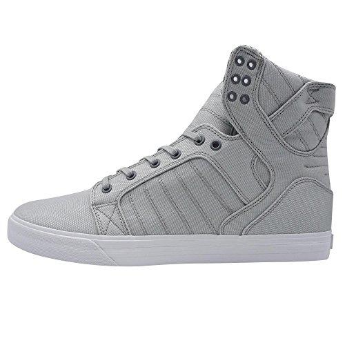 Supra Vaider Sneakers Bambino Grigio - 38 - Sneakers Alte