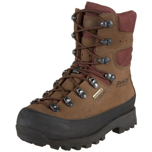 Kenetrek Womens Mountain Extreme Insulated Hiking Boot with 400 Gram Thinsulate, 10 Medium Brown