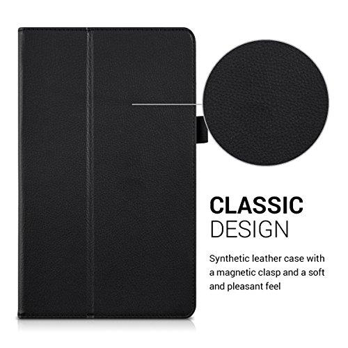 kwmobile Huawei MediaPad T2 10.0 Pro Hülle - Tablet Cover Case Schutzhülle für Huawei MediaPad T2 10.0 Pro - Schwarz mit Ständer - 2