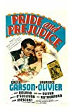 Posterazzi Pride And Prejudice From Left: Laurence Olivier Greer Garson 1940. Movie Masterprint Poster Print, (11 x 17)
