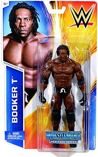 wwe booker t action figures - 7
