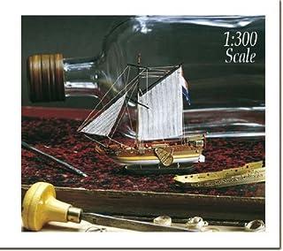 木製帆船 AM1350 ボトルシップキット アマティ オランダのヨット グロッセ(ボトル・和訳付き)
