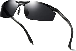d7c488d719 ELITERA Aluminum Magnesium Polarized Sunglasses Mens For Driving Travel  E8179