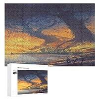 大きな木の風景画 300ピースのパズル木製パズル大人の贈り物子供の誕生日プレゼント
