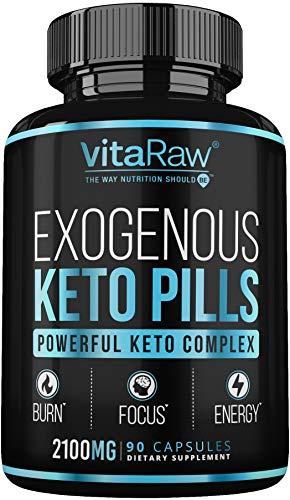 Keto Pills - (3X Powerful Dose | 2100mg Keto BHB) Best Keto...