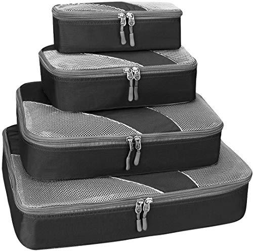 G4Free Kleidertaschen Packtaschen Kofferorganizer Reisetaschen Packwürfel Set