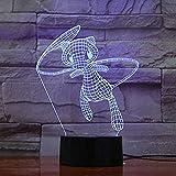 Pokemon Schöne Mew Cartoon 3D Lampe 7 Farbe Led Nachtlampen für Kinder Touch Led USB Tischlampe...