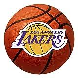 FANMATS NBA Los Angeles Lakers - Alfombra de Baloncesto (Nailon, 66 cm de diámetro)
