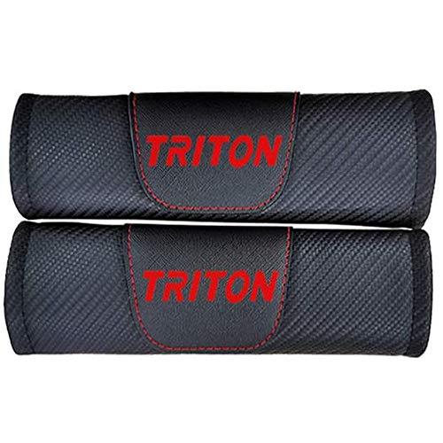 Funda Para CinturóN De Seguridad Y Hombrera, Adecuada Para La Hombrera Y El Clip De Seguridad De Mitsubishi Triton