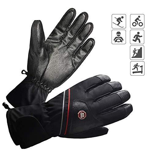 BIAL Skihandschuhe Herren Ski Handschuhe Snowboard Winterhandschuhe Wasserdicht Winddicht Winter Warm Thermo Handschuhe für Skifahren Radfahren Wandern