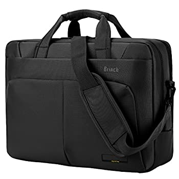 Laptop Bag, BRINCH ™ 15.6 Inch Nylon Waterproof Roomy Stylish Laptop Shoulder Messenger Bag Handle Bag Tablet