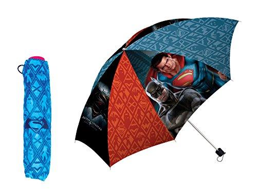 Disney WA16036 - Ombrello Pieghevole di Batman Vs Superman