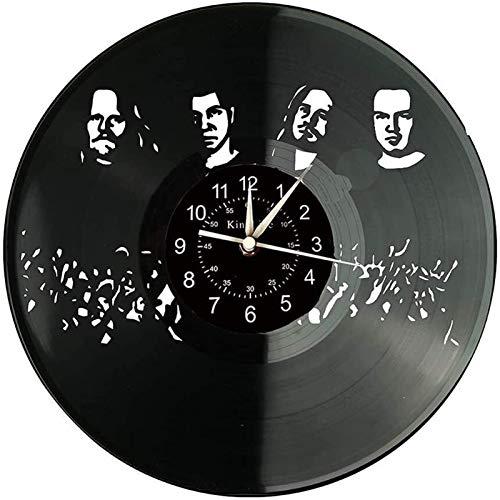 Wanduhr, Retro-Design Große Wanddekoration Uhr, handgemachte Wanduhrgeschenk, 30 cm, ohne Licht