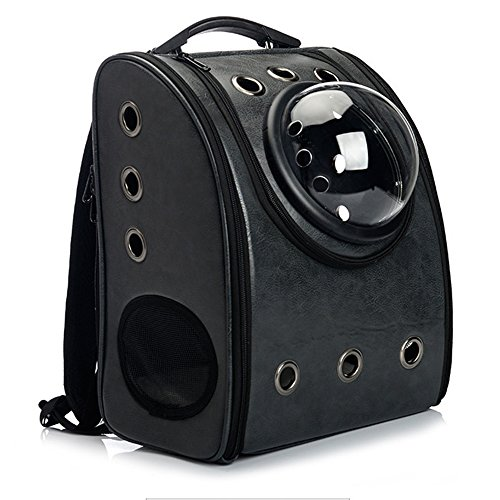 Skyoo Transport-Rucksack für Katzen/Hunde, Astronauten-Stil, atmungsaktiv, Wasserdicht