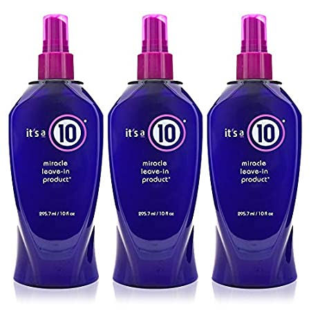 Beauty Shopping It's a 10 Haircare Miracle Leave-In product, 10 fl. oz. (Pack of 3)