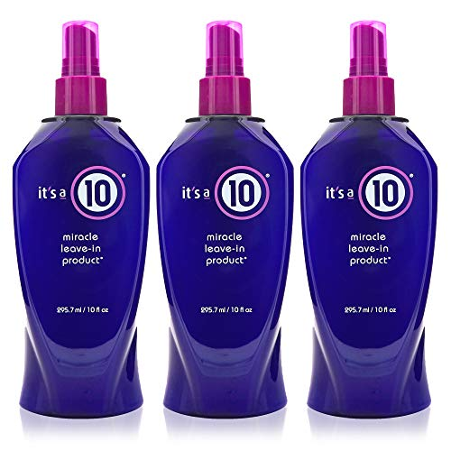 It's a 10 Haircare Miracle Leave-In product, 10 fl. oz. (Pack of 3)