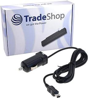 Trade Shop KFZ Ladegerät Ladekabel Netzteil für Garmin nüvi nuvi 140LMT 140T 1440Tpro 150LMT 150T 150T LM 2445 2455 2497 2545