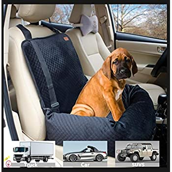 Kurgo Booster Seat for Dogs and Car Booster Seat for Pets