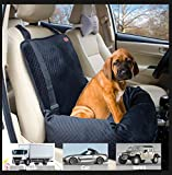 Pet Car Carrier for Small Medium Large Dogs/Cats,Puppy Travel Lookout Booster Seat