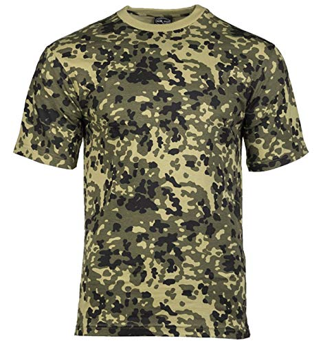 Mil-Tec US Army T-Shirt Camouflage léger (Camou Danois/S)