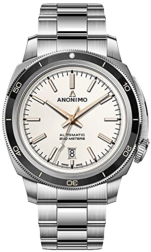 Nautilo Reloj para Hombre Analógico de Automático con Brazalete de Acero Inoxidable AM-5019.19.240.M01