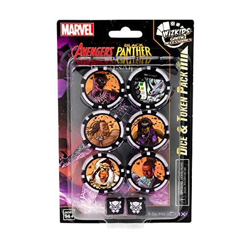 Marvel Heroclix: Avengers Black Panther & The Illuminati Dice & Token Pack