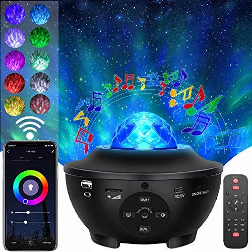Smart Star Projector, Yokgrass Starry Night Light Projector, Galaxy Laser Projector Light, Smart...