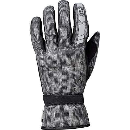 IXS Torino Evo-ST 3.0 - Guantes de moto (talla M), color gris y negro