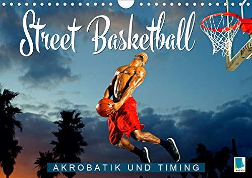 Street Basketball: Akrobatik und Timing (Wandkalender 2020 DIN A4 quer): Action Sport: Urban Streetball (Monatskalender, 14 Seiten ) (CALVENDO Sport)