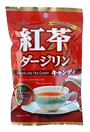 マルエ製菓 ダージリン紅茶キャンディ 90g ×12袋