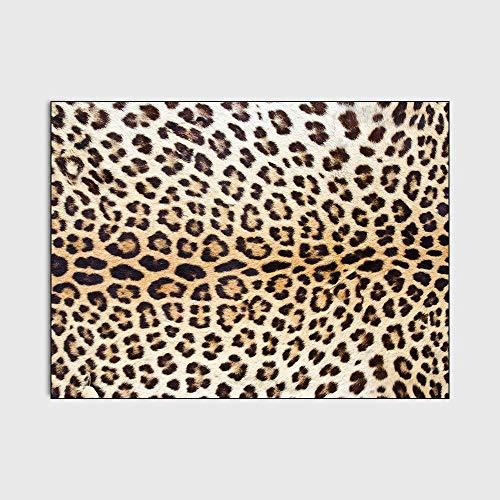 Alfombras Salón Rug Grand Tamaño Alfombras Patrón de impresión de patrón clásico Alfombra Adecuado para Dormitorio, Dormitorio, Pasillo, sofá 160x230M( 5ft3 x7ft 8')