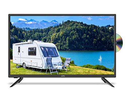 """Cello 12 volt 32"""" inch C3220 Traveller FS LED TV with DVD and Satellite"""