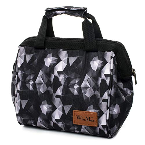 winmax Kühltasche klein für die Schule,Lunch-Taschen Kühltasche,7L Picknick Tasche,Tasche für Lunch,Tragbar Schulterriemen für Aufbewahrung von Wärme und Kälte, Multifunktional Picknicktasche