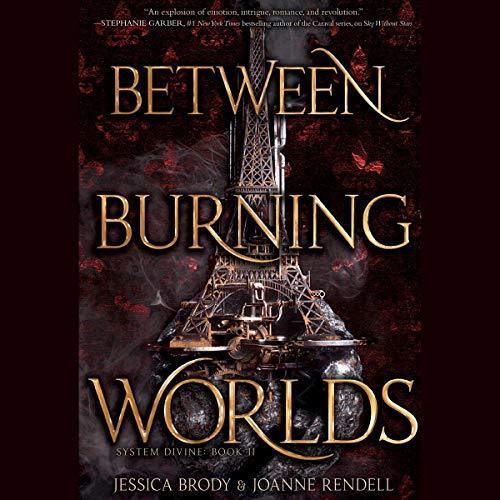 Between Burning Worlds audiobook cover art