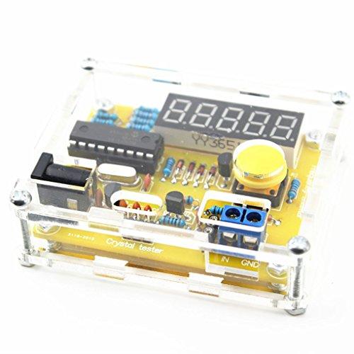 Fornateu 1 Hz-50 MHz Quarzoszillator Tester Frequenzzähler Tester Mess Meter-Fall Haltbarer DIY LED Kit