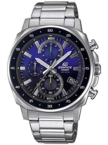 Reloj EDIFICE Caballero Acero Esfera Azul