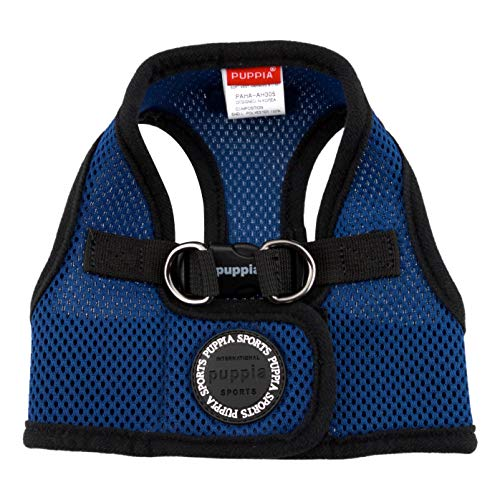 PUPPIA International Puppia Harness Soft B Vest Royal Blue Small