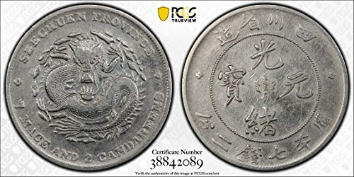 1901 CN China 1901~08 Dollar PCGS VF Szechuan. Y-238 LM-345 NF PC0847 DE FAIR PCGS