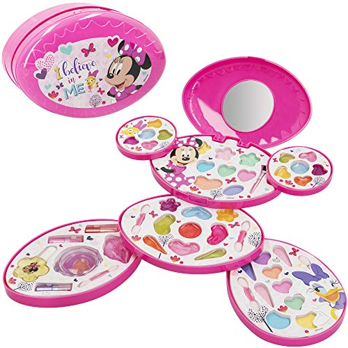 Disney - Set maquillaje infantil ni?as Completo Maletin Maquillaje Minnie Juego maquillaje ni?as ni?os 5 a?os Set maquillaje...