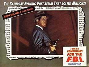I Was a Communist for the FBI POSTER Movie (22 x 28 Inches - 56cm x 72cm) (1951) (Half Sheet Style A)