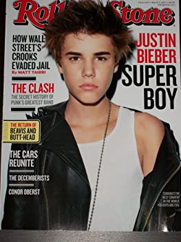Rolling Stone #1125 March 3 2011 Justin Bieber Super Boy The Clash The Return of Beavis and Butt-Head The Cars Reunite How Wall Street s Crooks Evaded Jail