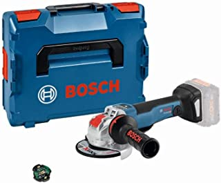 Bosch Professional GWX 18 V - 10 PSC Cordless Angle Grinder No Battery, X - Lock, Connected, Disk Diameter: 125 mm, L - Boxx