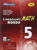 LINEAM.MATH ROSSO 5: Vol. 5