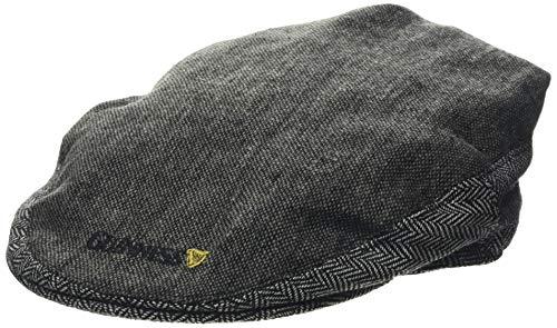 Guinness Herren GRY GUIN TWEED FLAT CAP Schirmmütze, Grau (Grau Grau), Large